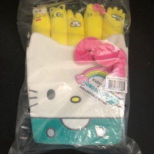SEALED NWT Hello Kitty Plush Fries Set